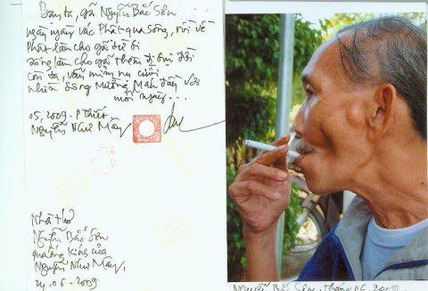 Bút ký của nhà thơ Nguyễn Bắc Sơn. Nguồn: hoangloc.vnweblogs.com