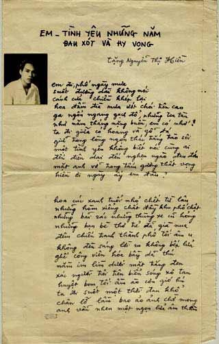 Bút ký của nhà thơ Lưu Quang Vũ. Nguồn: ngoisao.net