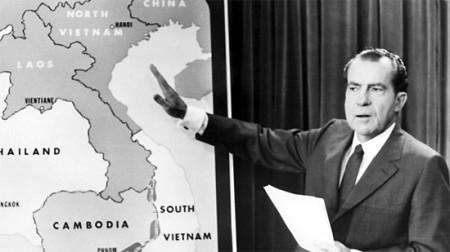 Richard Nixon, Tổng Thống Hoa Kỳ từ 1969-1974.