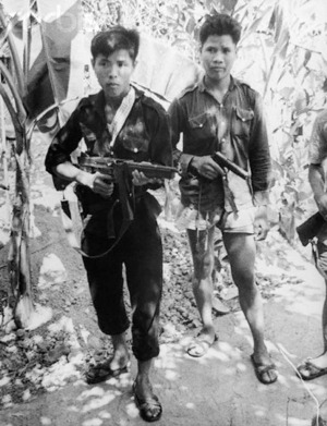 Quân du kích (Việt Cộng). Nguồn: © Bettmann/CORBIS