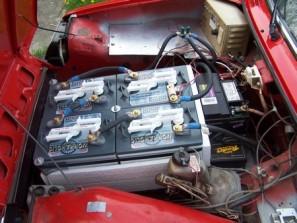 Bình accu chứa điện