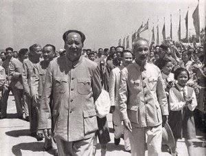 Mao Trạch Đông  - Hồ Chí Minh