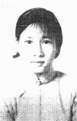 Tăng Tuyết Minh ở tuổi 20