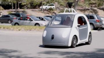 Xe thử nghiệm của Google