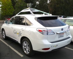 Google biến cải xe thường thành xe tự lái