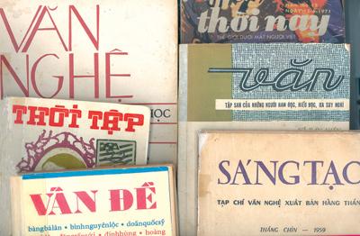 Một vài hình ảnh về sách báo cũ trước 1975, nay được tìm mua và được bán ra với giá cao.