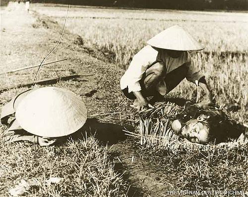 Ở vùng thôn quê hẻo lánh Miền Nam VN, mấy thằng Việt Cộng (MTGPMN) tối về làng, áp tải xã trưởng của VNCH đem ra bắn, cắt đầu từ 1960 đến tận 1975. ...