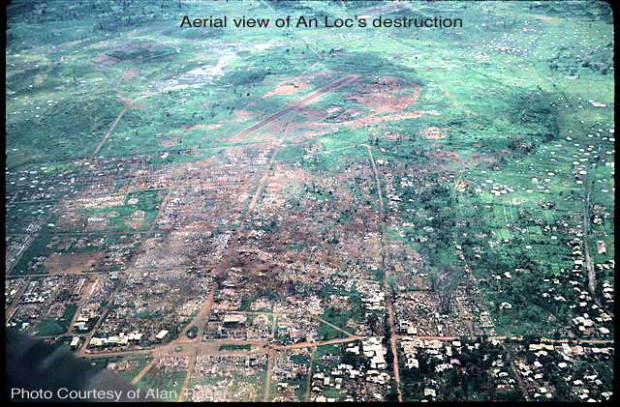 Thị Xã An Lộc trở thành bình địa