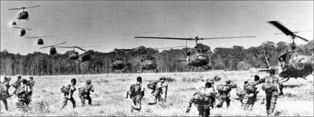 Quân đội Việt Nam Cộng Hòa được di tản bằng trực thăng tại Quảng Trị ngày 30 tháng 6 năm 1972. Ảnh minh họa.