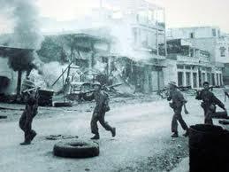 Quân CSBV tiến vào XL hoang tàn bỏ ngõ