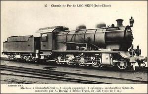 Đầu máy thường được sử dụng vào cuối năm 1950. Số 131-112 của trạm Chí Hòa