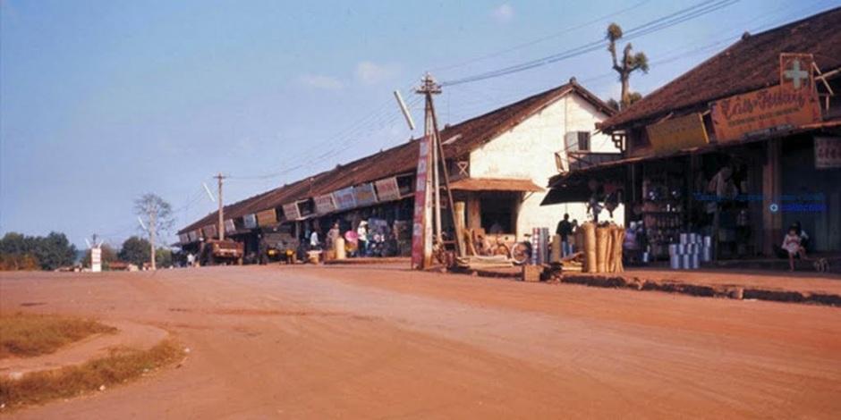 Chợ cũ Thị Xã An Lôc, Tỉnh Bình Long 1970