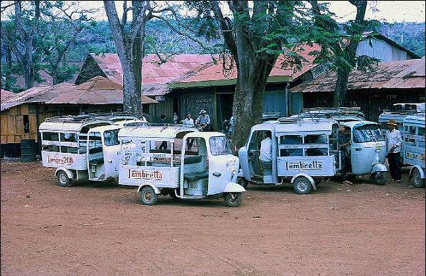 Bến xe Lam Quản Lợi 1970