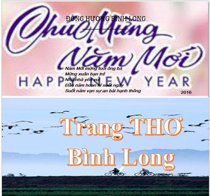 Chúc mừng Năm Mới: Trang Thơ Bình Long, của Đồng Hương Bình Long