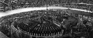 Máy gia tốc hạt Bevatron tại Berkeley, California, U.S.A