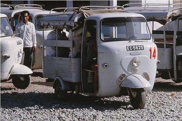 Xe Lambretta thời kỳ đầu 125 phân khối – Nguồn: Mannupweb