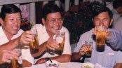 Từ phải qua: Trần Quang Hùng, Trần Yên Hòa, Trần Thế Phong