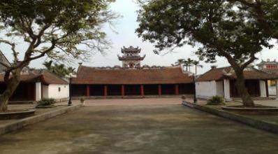 (Chùa lương: xây dựng vào đời Hồng Thuận 1509-1515)